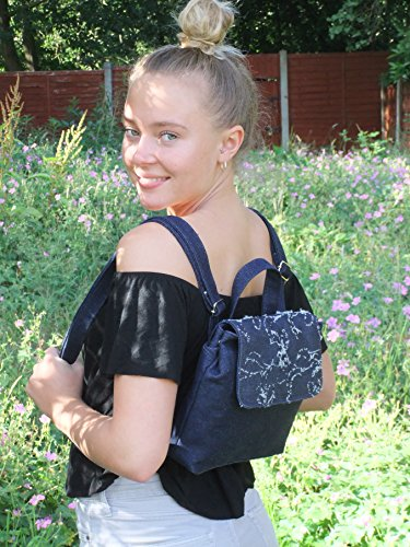 au LONI Fur Main Backpack Amazing Petit Dos Sac Leopard Metallic Femme Faux Animal Silver porté à Leopard Print x0xUR