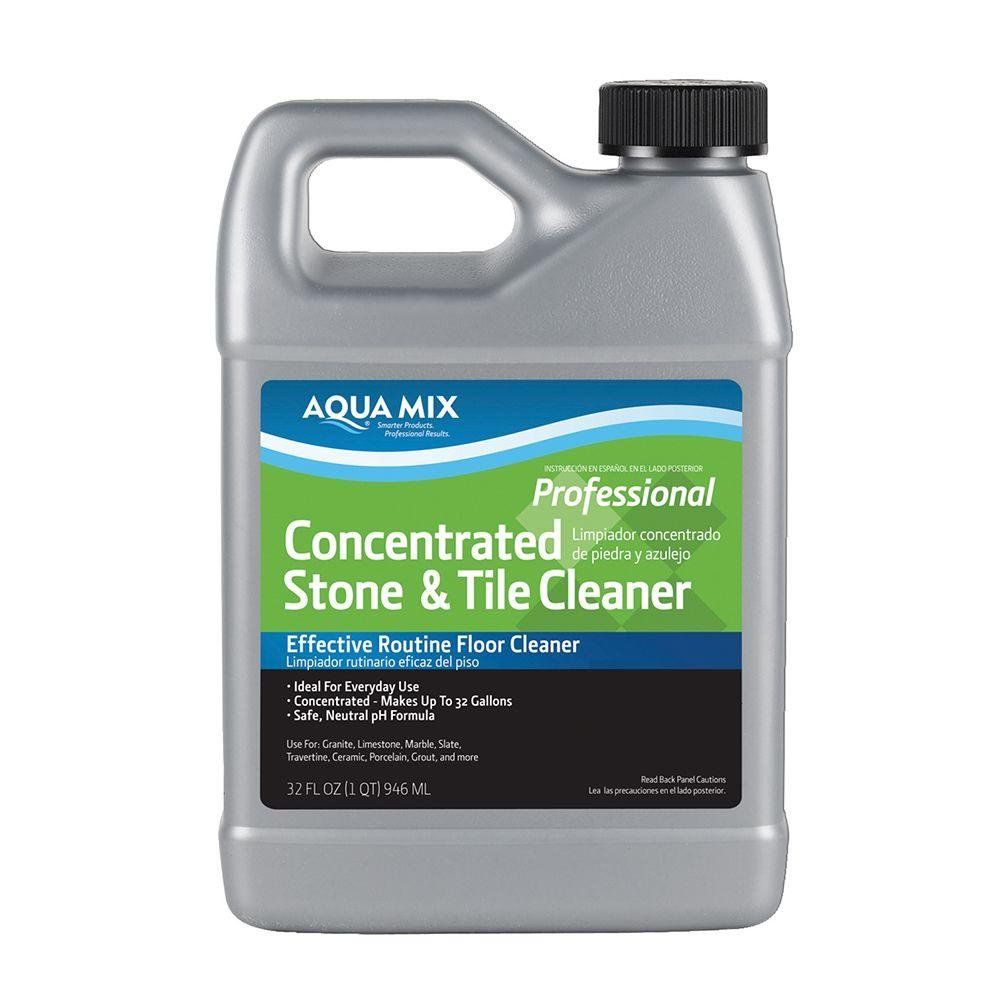 Aqua Mix 32-Ounce Concentrated Stone and Tile Cleaner Florstor 010332