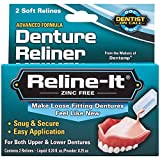 Reline-It Advanced Denture Reliner Kit for Both