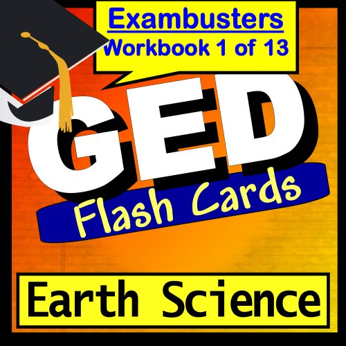 GED Test Prep Earth Science Review Flashcards--GED Study Gui