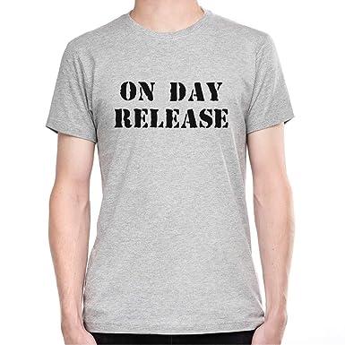 646d9e53b On Day Release Men's T-Shirt - XX-Large: Amazon.co.uk: Clothing