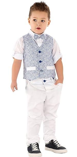8aa6731f2f4 Boutique-Magique - Traje - para niño azul francia 10 años : Amazon.es: Ropa  y accesorios