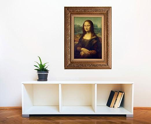 1b710d1e0e2 Amazon.com  Creative 3D Visual Effect Wall Mural - Mona Lisa by Leonardo Da  Vinci - Peel   Stick Wall Decor - 48
