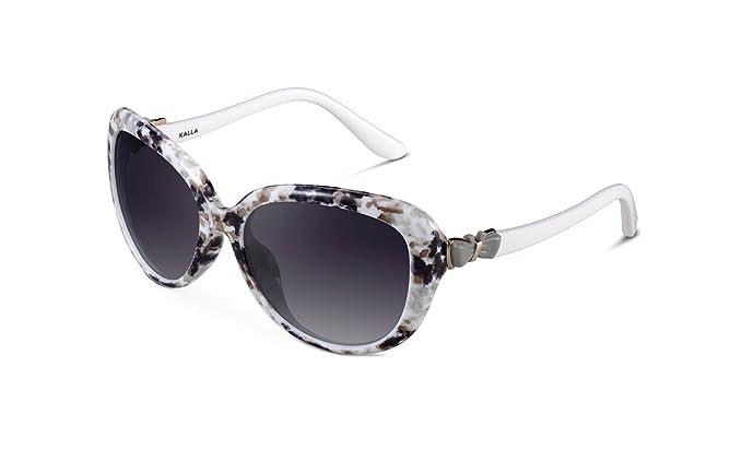 KALLA Classic Butterfly TR90 gafas polarizadas para mujer UV-400 Protection