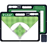 LEAP Coach Board Basketball Tactical Coaching Two Sides with Full & Half Court Feature Premium Dry Erase Tool Icehockey…
