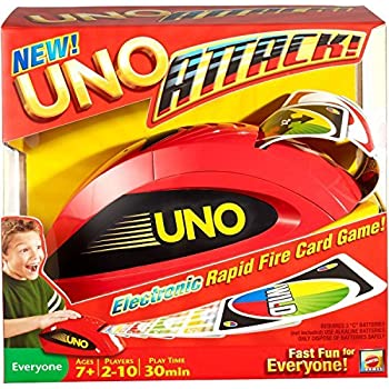 Amazon Mattel Uno Attack Game Replacement Cards Toys Games