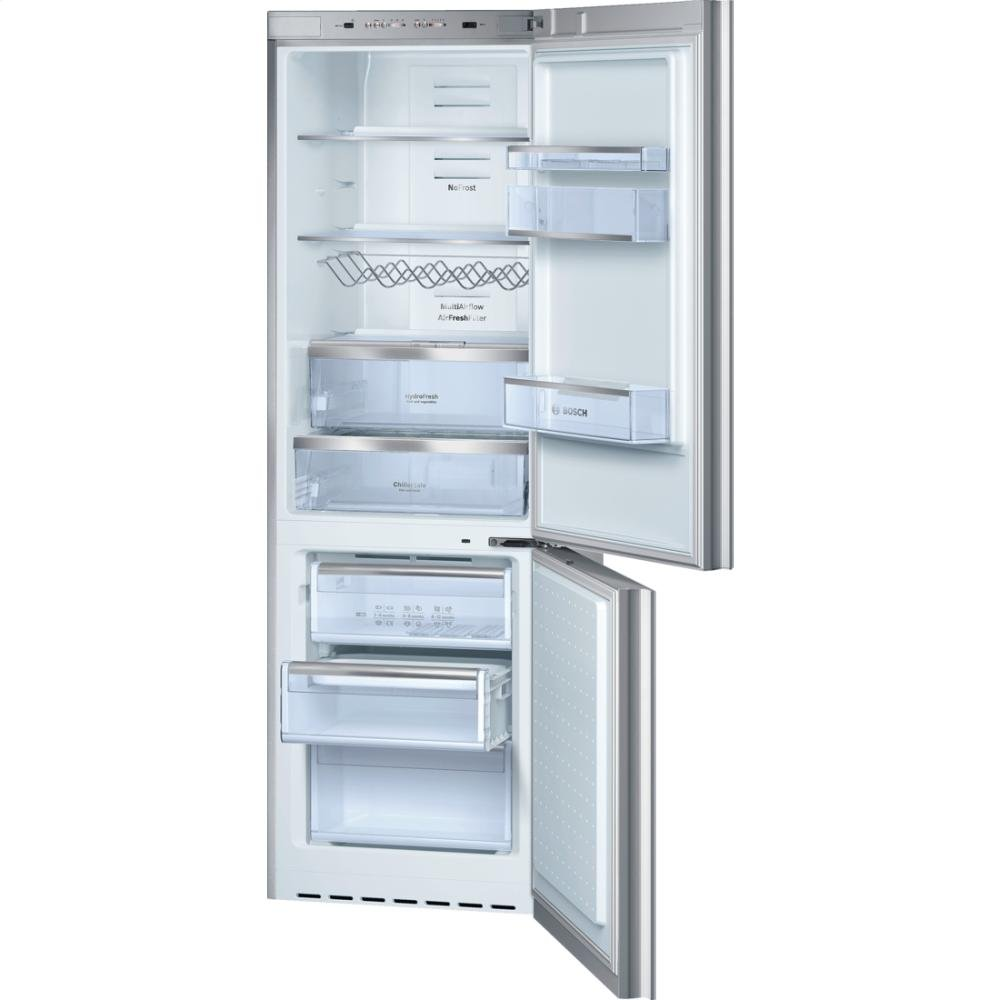 Amazon B10CB80NVS 24 800 Series Energy Star Qualified Counter Depth Bottom Freezer Refrigerator With 10 Cu Ft Capacity Spill Proof Glass Shelves