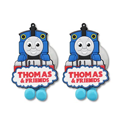 Finex Set Of 2   Thomas U0026 Friends Blue Toothbrush Holders With Suction Cup  For Wall