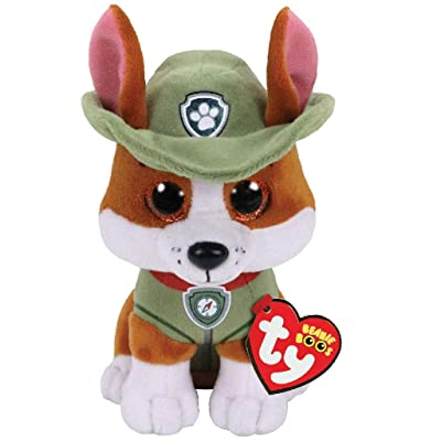 Paw Patrol Carletto Ty 41299 Tracker 15 cm Multi-Coloured: Toys & Games