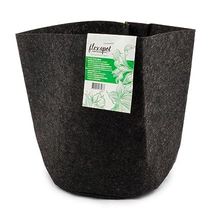 Bolsa / Maceta Geotextil para el cultivo Flexapot® Gris 2 GAL (7,6L