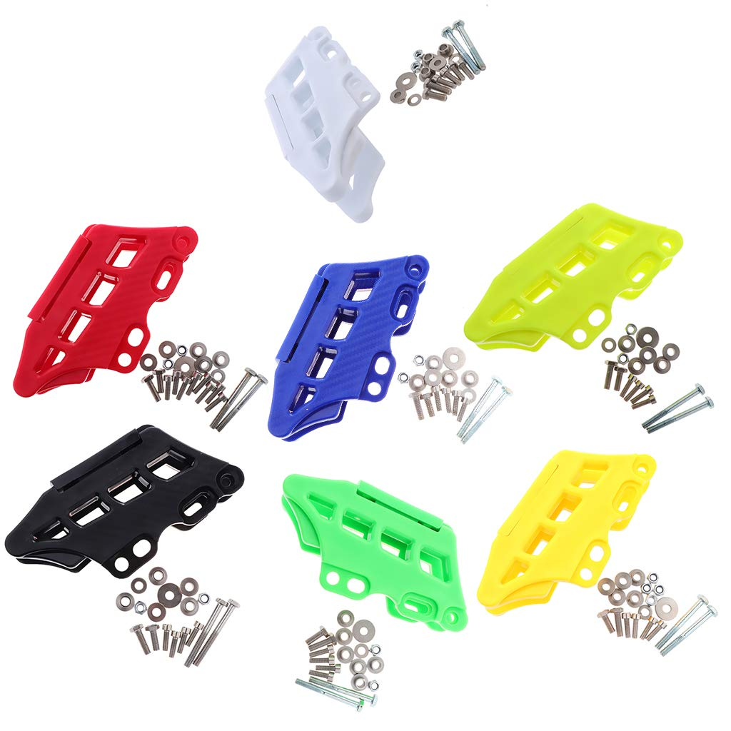 Black Baosity ABS Plastic Motorcross Chain Guide Guard Protector for Kawasaki KX250F 450F 09-17