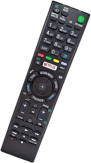 Ersatz TV Fernbedienung für Sony KD-65XE7005 Fernseher