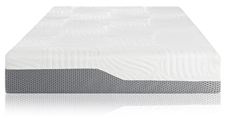 Ratings On Mattresses >> Voila Box Luxury Hybrid Coil Spring Latex Mattress Gel Infused Memory Foam Coils Latex Triple Edge Support Breathable Cool Sleep Technology