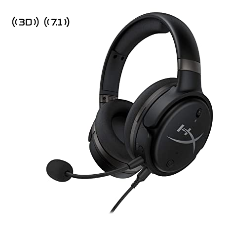 HyperX HX-HSCO-GM/WW Cloud Orbit S - Cascos de Gaming con Audio Waves Nx 3D