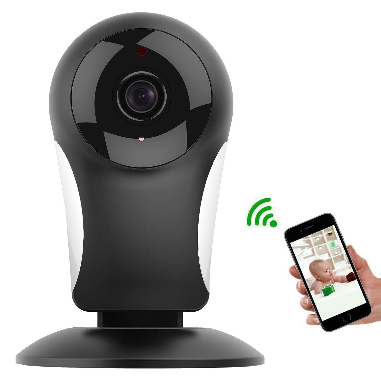 Baby Monitor, M.Way 360 Grad Wireless Innen Digitalkamera, WiFi Drahtlose  Mobile Fernüberwachungskamera