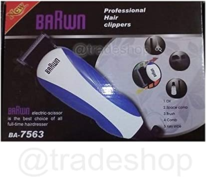 Talla el pelo profesional barwn eléctrico Talla Barba afeitadora ...