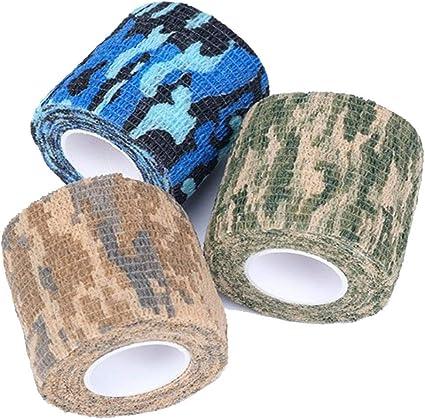 Stretch Rifle Wrap Camo Bandage Outdoor Non-woven Gun Stealth Tape 5CM Wide US