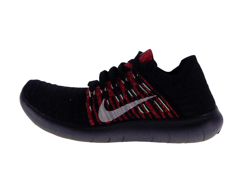 Amazon.com | Nike Men's Free RN Flyknit Night Maroon/Purple Dynasty/Green  Glow Nylon Running Shoes 6.5 M US | Road Running