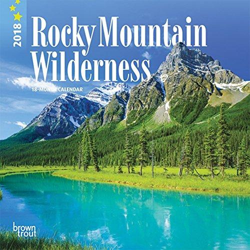 Rocky Mountain Wilderness Mini Calendar 2018 - Deluxe Small Wall Calendar (7x7)