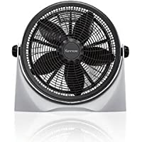 Kenmore 35162 16 High Velocity Floor Fan - Black & White 35162 by Kenmore