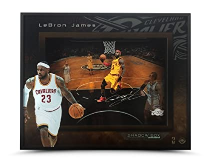 """new concept ebc59 fdf65 Image Unavailable. Image not available for. Color  LeBron James Autographed  """"Liftoff"""" 16 x 20 ..."""