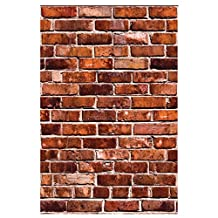 Wallies Peel & Stick Vinyl Wall Decals, Brick Wall Sticker, Includes 2 Sheets of Decals