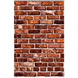 Wallies Wall Decals, Brick Wall Sticker, Includes 2 Sheets