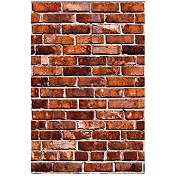 Faux Brick Breakaway Wall Decals