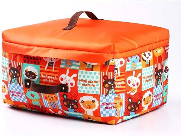 Treslin Cajas de almacenaje Juguetes Grandes,Caja de Almacenamiento de Dibujos Animados a Prueba de Humedad edredón de bebé Bolsa de clasificación de almacena: Amazon.es: Hogar