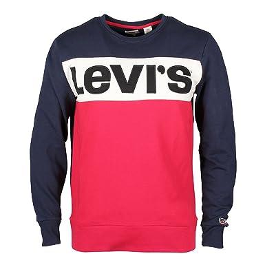 52604 Accessoires Vêtements Levis Sweat Rouge Colorblock Et PHw5H8Yq