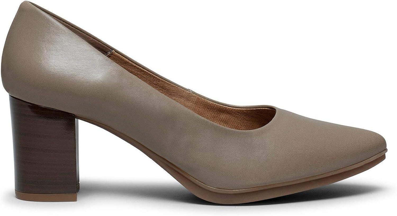 Chaussures Classiques et /Él/égants miMaO Chaussures Escarpins Confortables /à Petit Talon Bois Confort Escarpins en Cuir Made in Spain