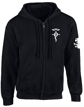 1e1dd1711a285 Happy Yohe Edward Elric Fullmetal Alchemist Thin Hoodie Coat at ...