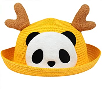 hombre 2019 original amplia selección Moolecole Para Niños Sombrero De Copa Dibujos Animados Panda ...