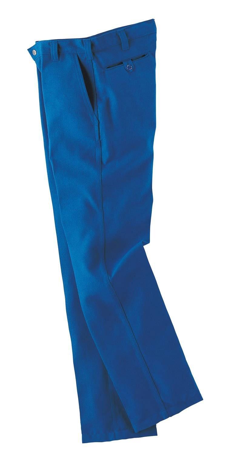 Workrite 400NX75RB36-32 Flame Resistant 7.5 oz Nomex IIIA Industrial Pant, 36 Waist Size, 32 Inseam, Royal Blue