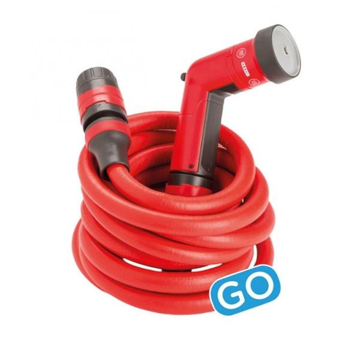 Fitt Go Yoyo Hose for Watering, Red, MT. 10 go yoyo