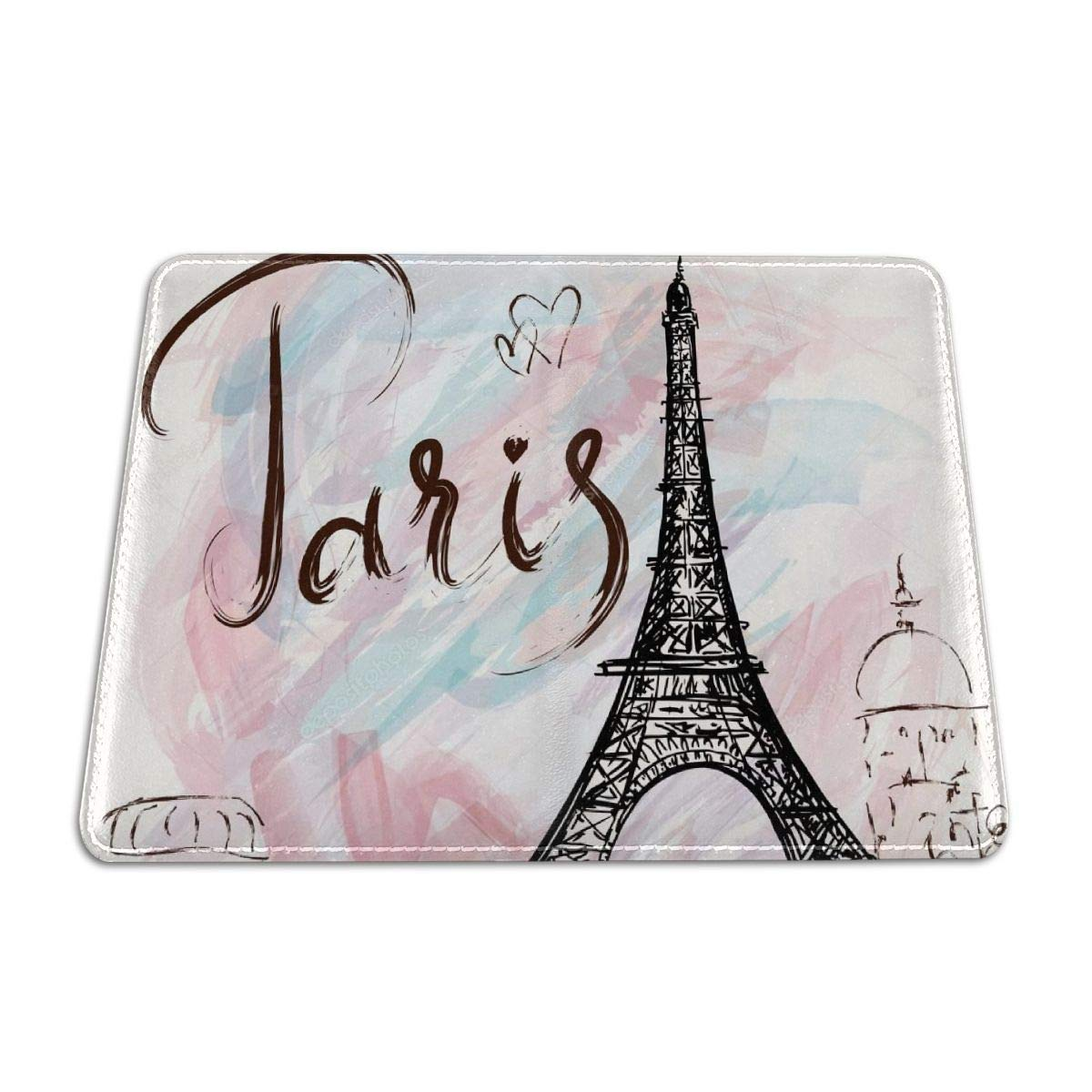 Dongingp Cool Paris Personalized Leather Passport Cover Travel Gifts 5.51 inch