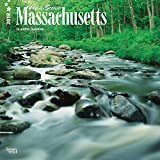 Massachusetts, Wild & Scenic 2018 12 x 12 Inch Monthly Square Wall Calendar, USA United States of America Northeast State Nature