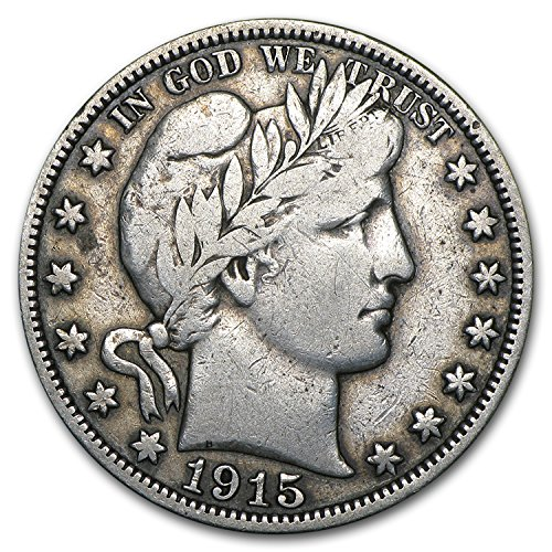 1915 Barber Half Dollar Fine Half Dollar Fine
