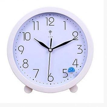 Nn Round Small Wall Clock Creative Simple Bracket Small Clock