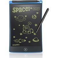 8.5-Inch Tablet- de escritura LCD tablero de dibujo Regalos para niños oficina escritura pizarra (Azul)
