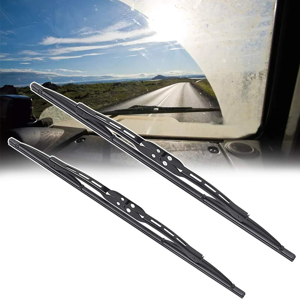 OTUAYAUTO Factory Aftermarket For Kia Forte Windshield Wiper Blades fit 2010-2013 Vehicles 24+20 Front Window Wiper
