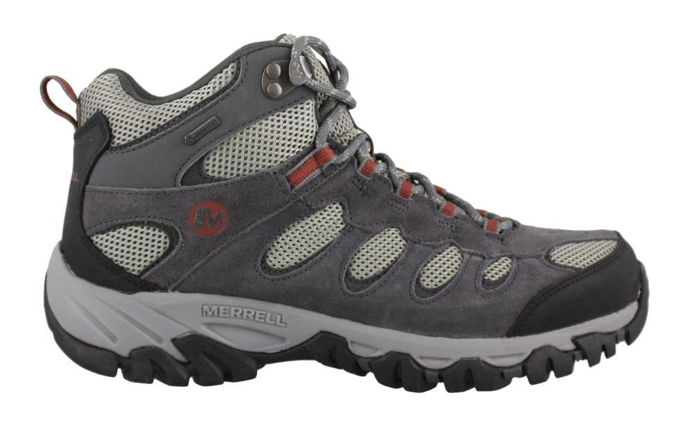 Merrell Men's, Ridgepass Mid GTX Hiking Boots Gray 9 M