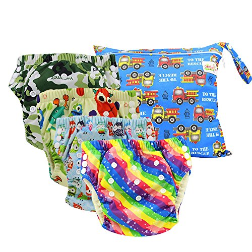 Ohbabyka Toddler Underwear Training Microfiber