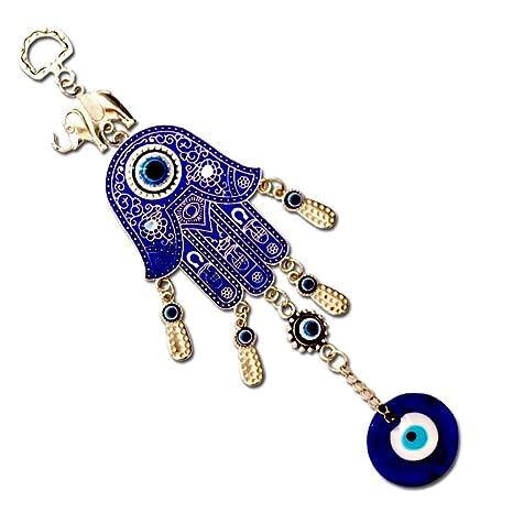 DECB Llavero Blue Evil Eye Ornamento Colgante de protección ...