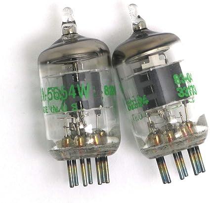 DollaTek 2Pcs 7-Pin 5654W Tubos de vacío: Amazon.es: Electrónica