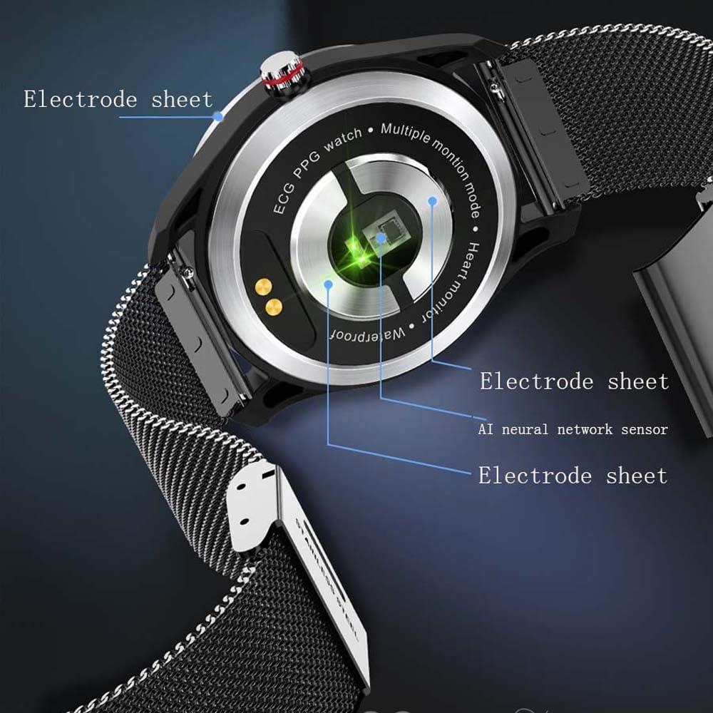 Smart watch Smart Bracelet IP68 Étanche Moniteur de fréquence Cardiaque Tracker Sommeil avec Compteur De Calories Étape Compatible avec iOS et Android B