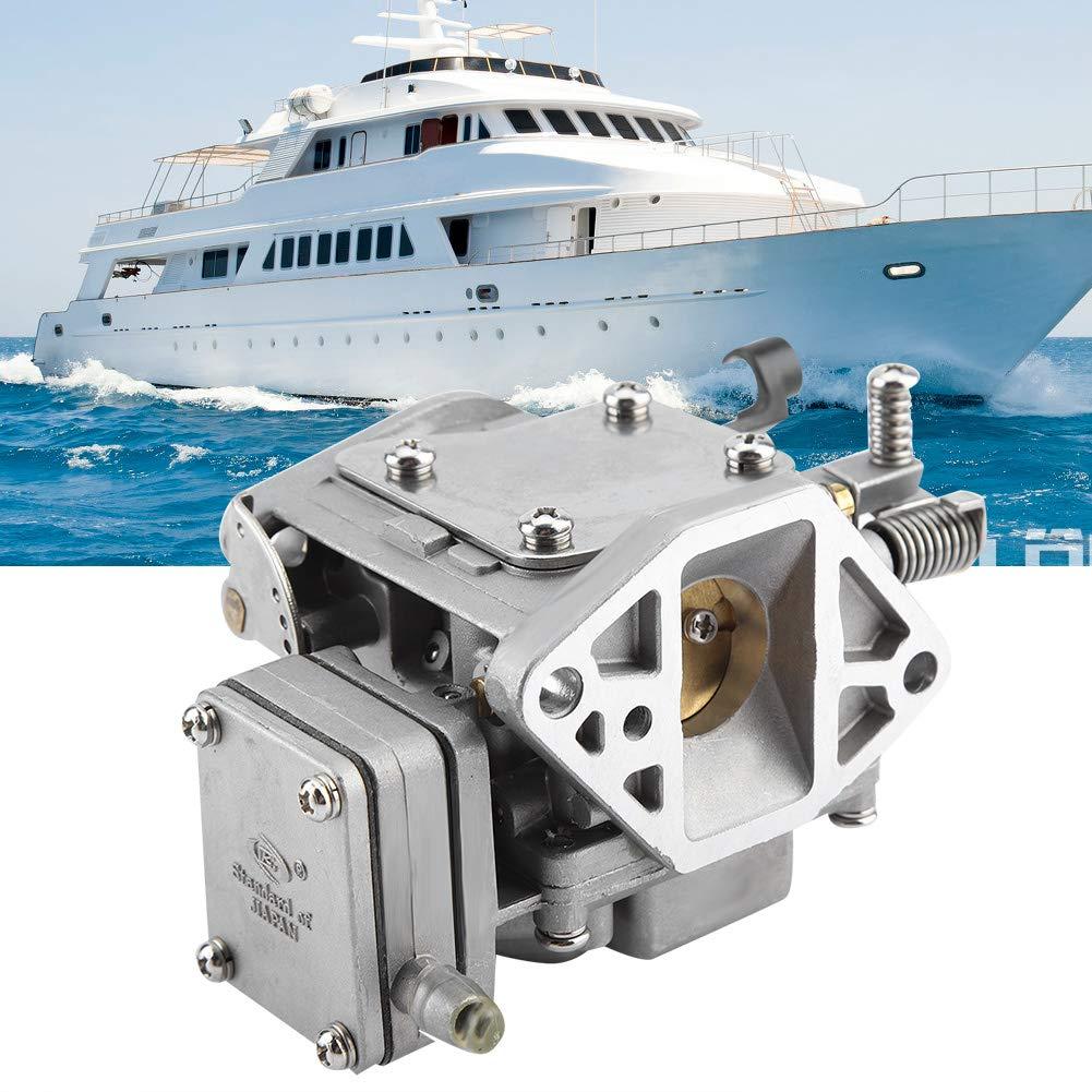 Aramox Pi/èces de moto de carburateur 63V-14301-00 Carb pour les moteurs hors-bord marins 2 temps 9.9hp 15hp