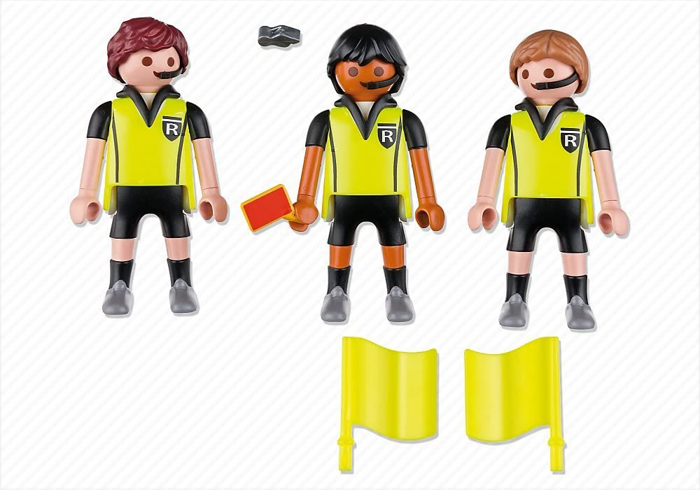Playmobil Fútbol - Fútbol Trío Arbitral (4728): Amazon.es ...
