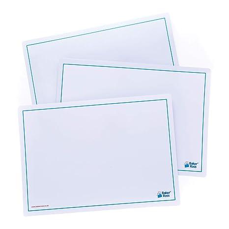 Baker Ross Pizarras blancas fáciles de borrar (Paquete de 10 ...