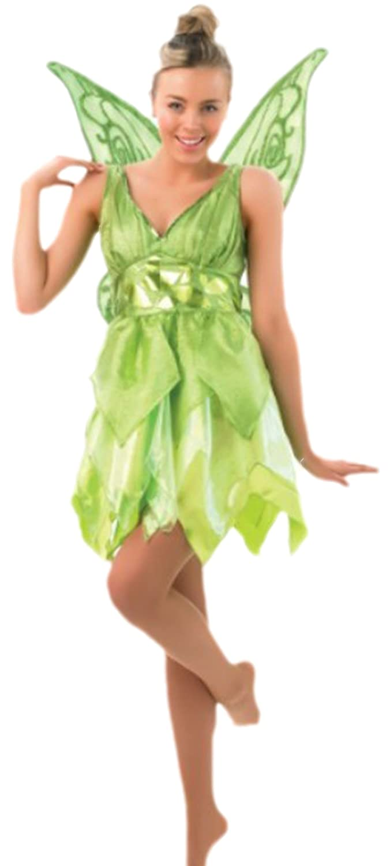 Halloweenia - Damen Karnevalskomplettkostüm Elfen Feen Kleid , S, Grün